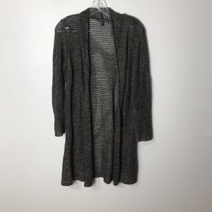 Eileen Fisher Shimmery Metallic last my Cardigan S